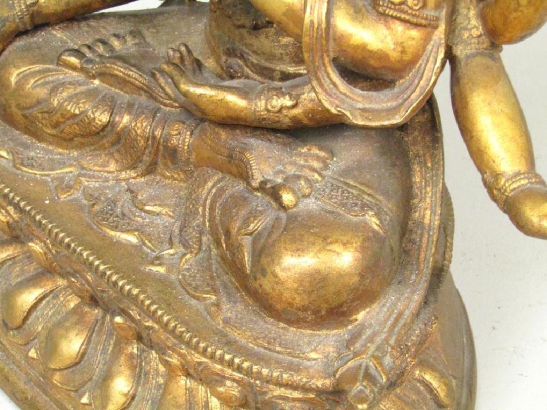 Gilt Bronze Bodhisattva - 6