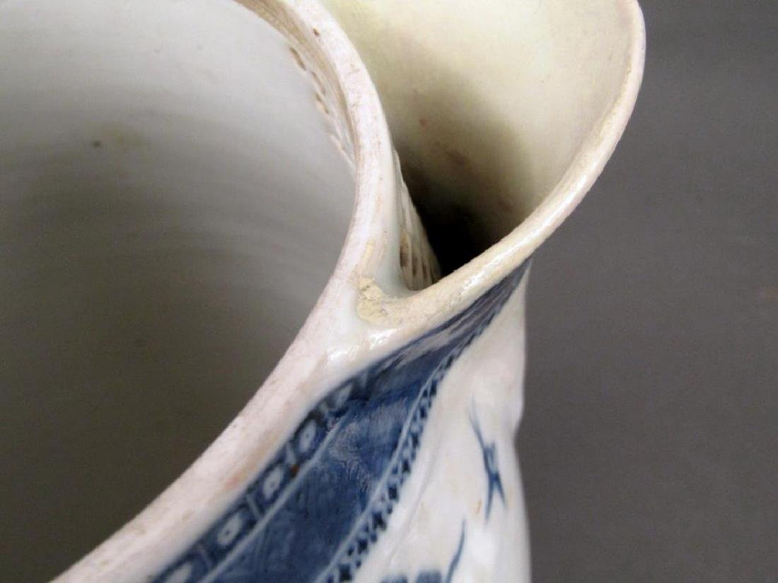 Chinese Blue and White Covered Pitcher - 7