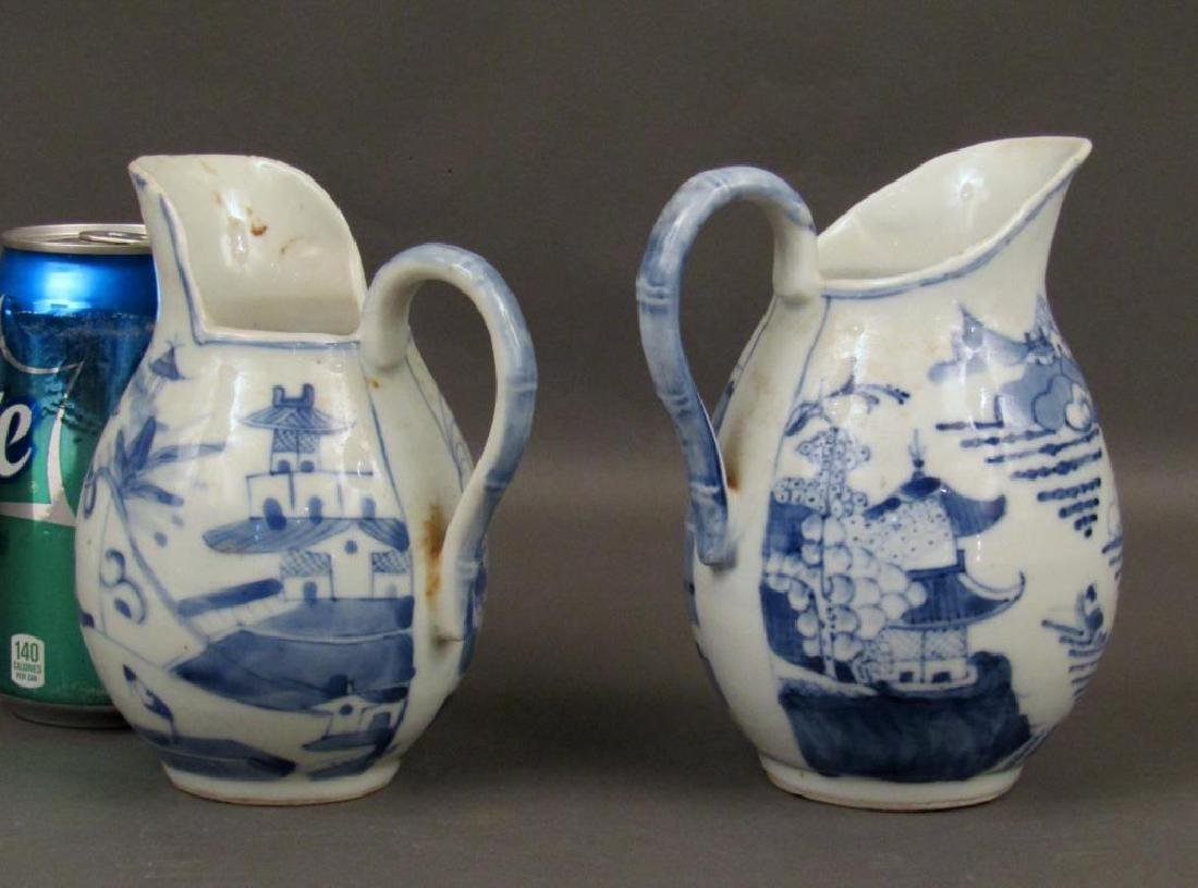 2 Chinese Blue and White Pitchers - 2