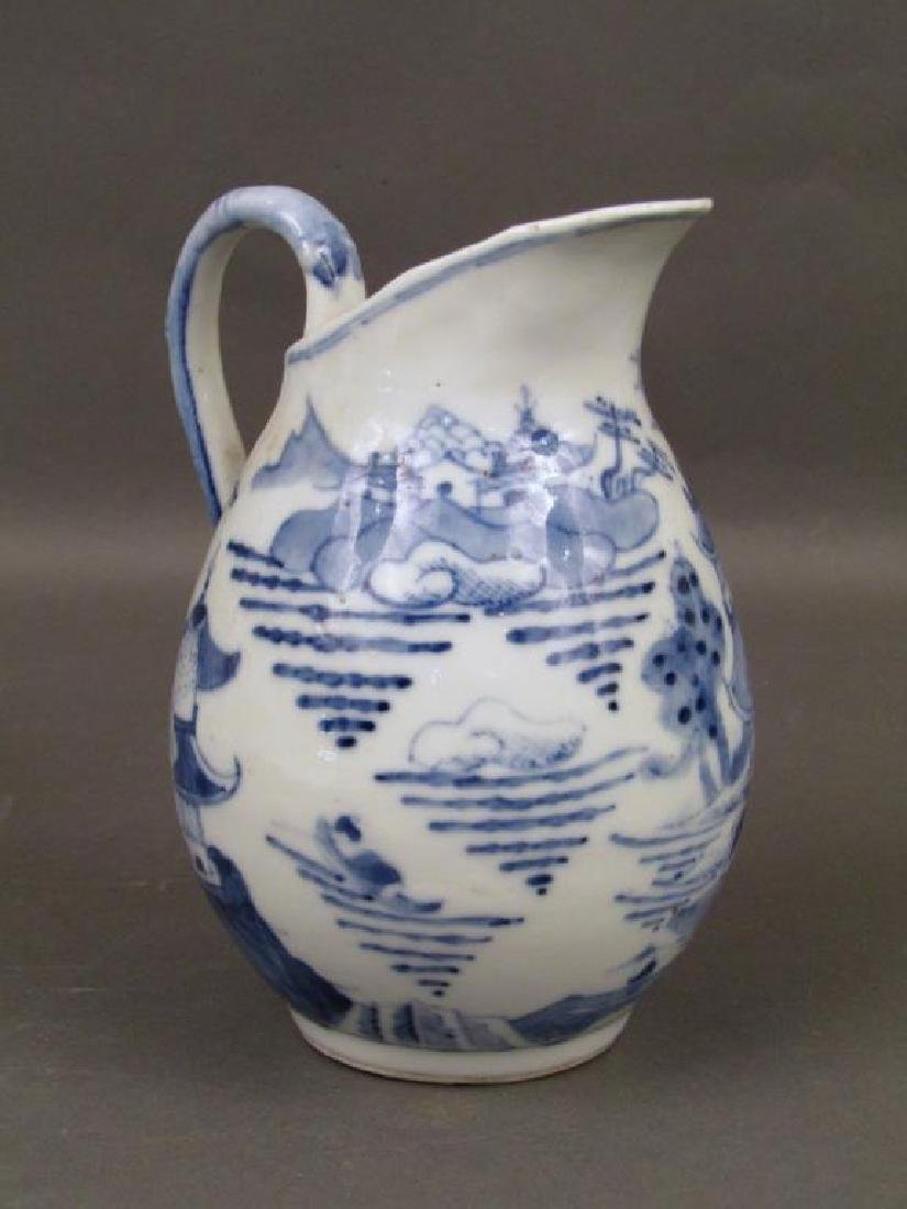2 Chinese Blue and White Pitchers - 7