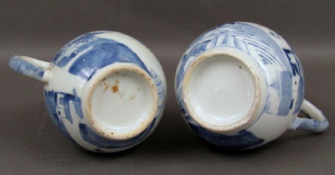 2 Chinese Blue and White Pitchers - 9