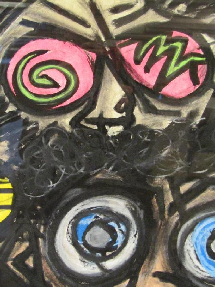 Bill Rock - Pastel and Oil - 3