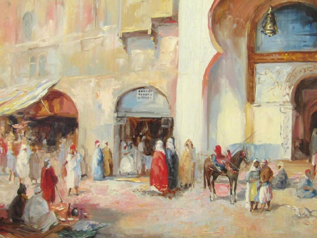 Framed Arabian Scene Giclee - 3