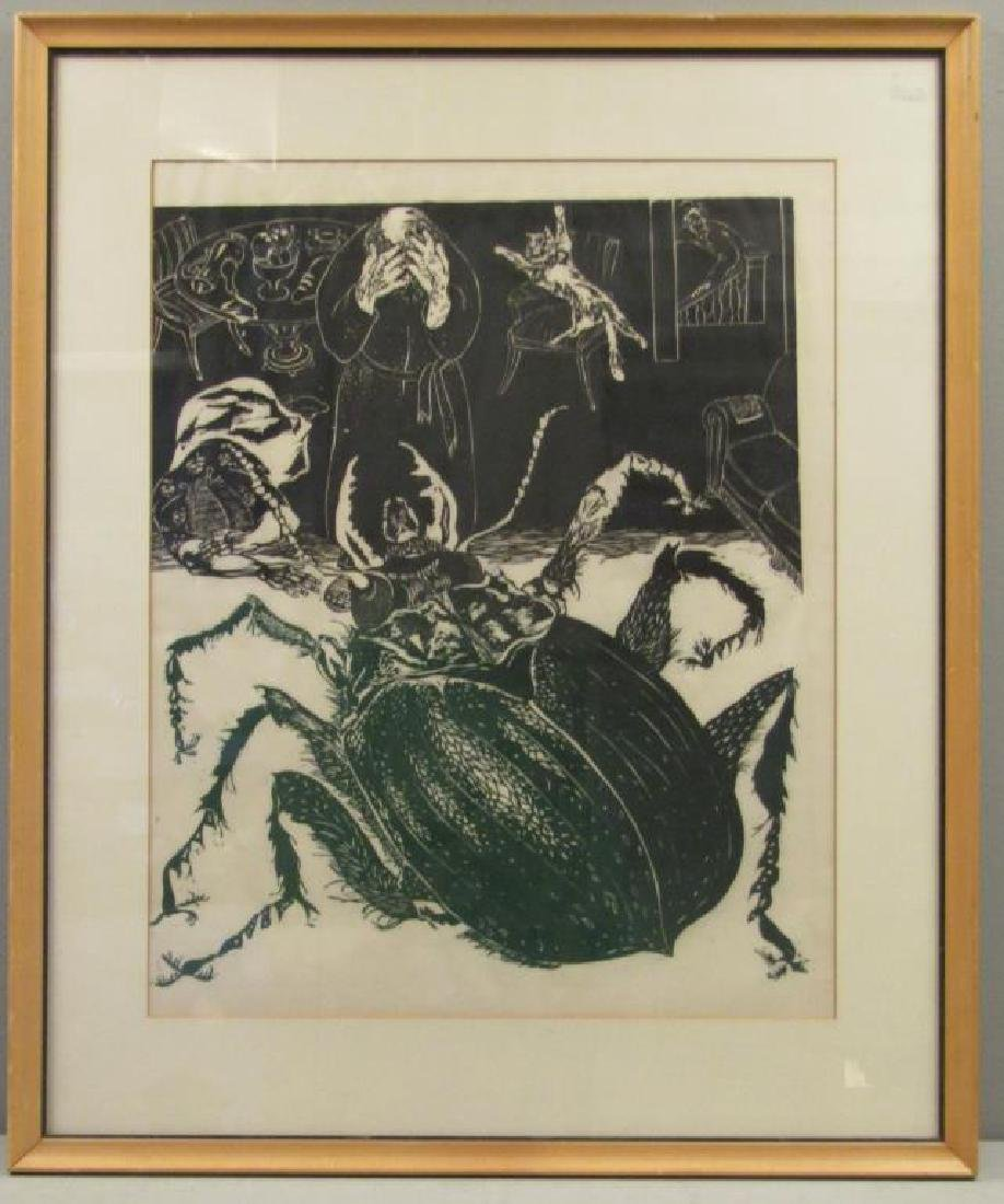 Unsigned - Woodblock Print - 2