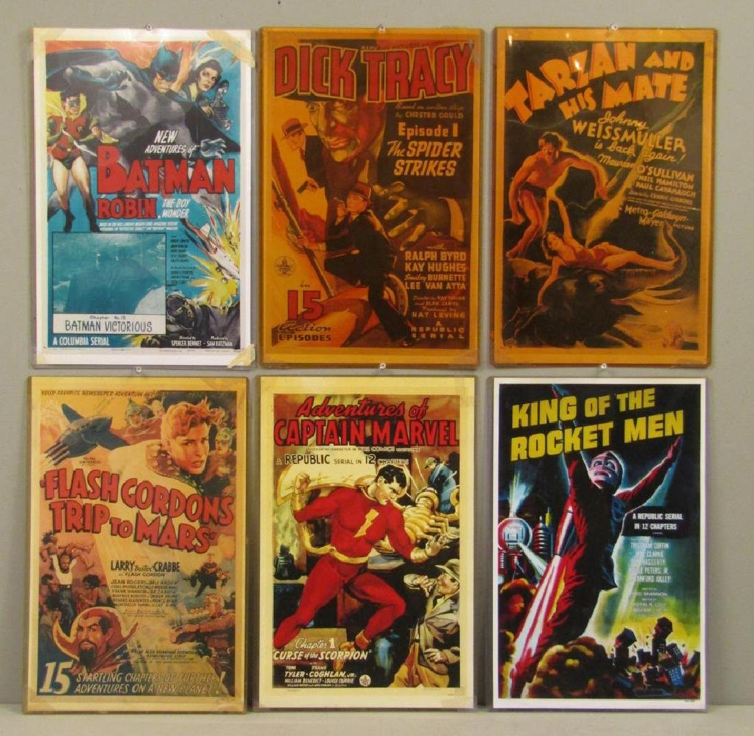 Assorted Reproduction Cartoon Poster Cards