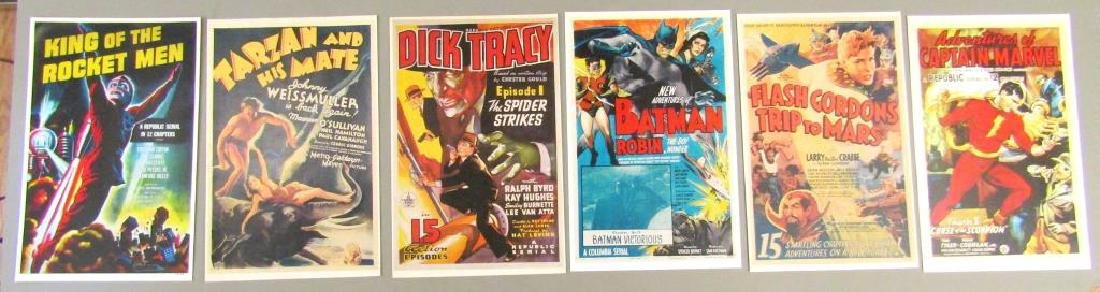 Assorted Reproduction Cartoon Poster Cards - 2