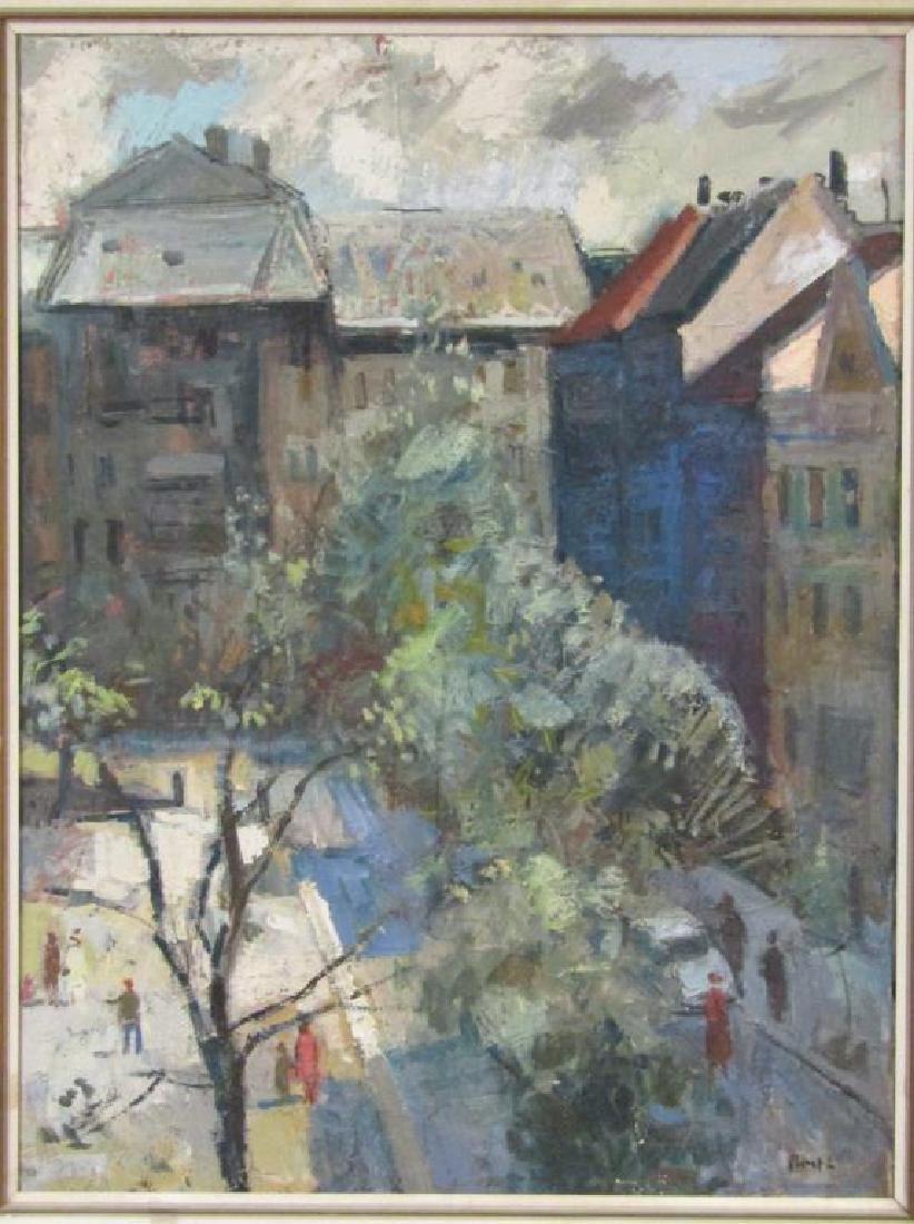 Laszlo Bod - Oil on Canvas