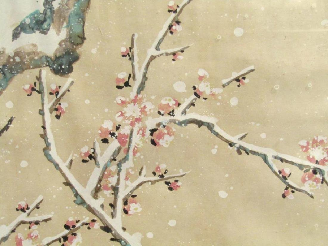 2 Chinese Paintings - 7