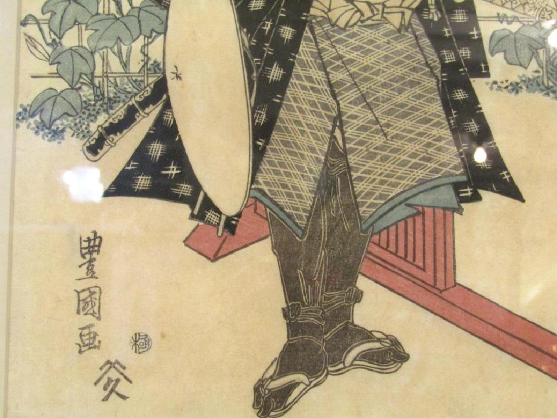 2 Japanese Woodblock Prints - 4