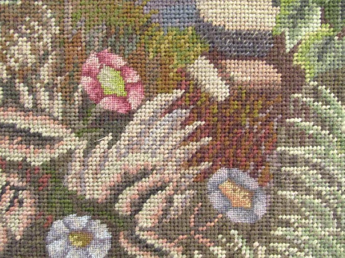 Large Needlepoint Panel - 4