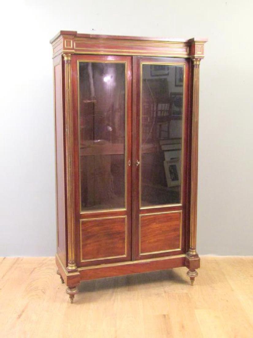 Antique French Vitrine Cabinet / Bibliotheque - 2