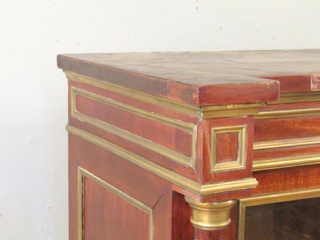 Antique French Vitrine Cabinet / Bibliotheque - 4