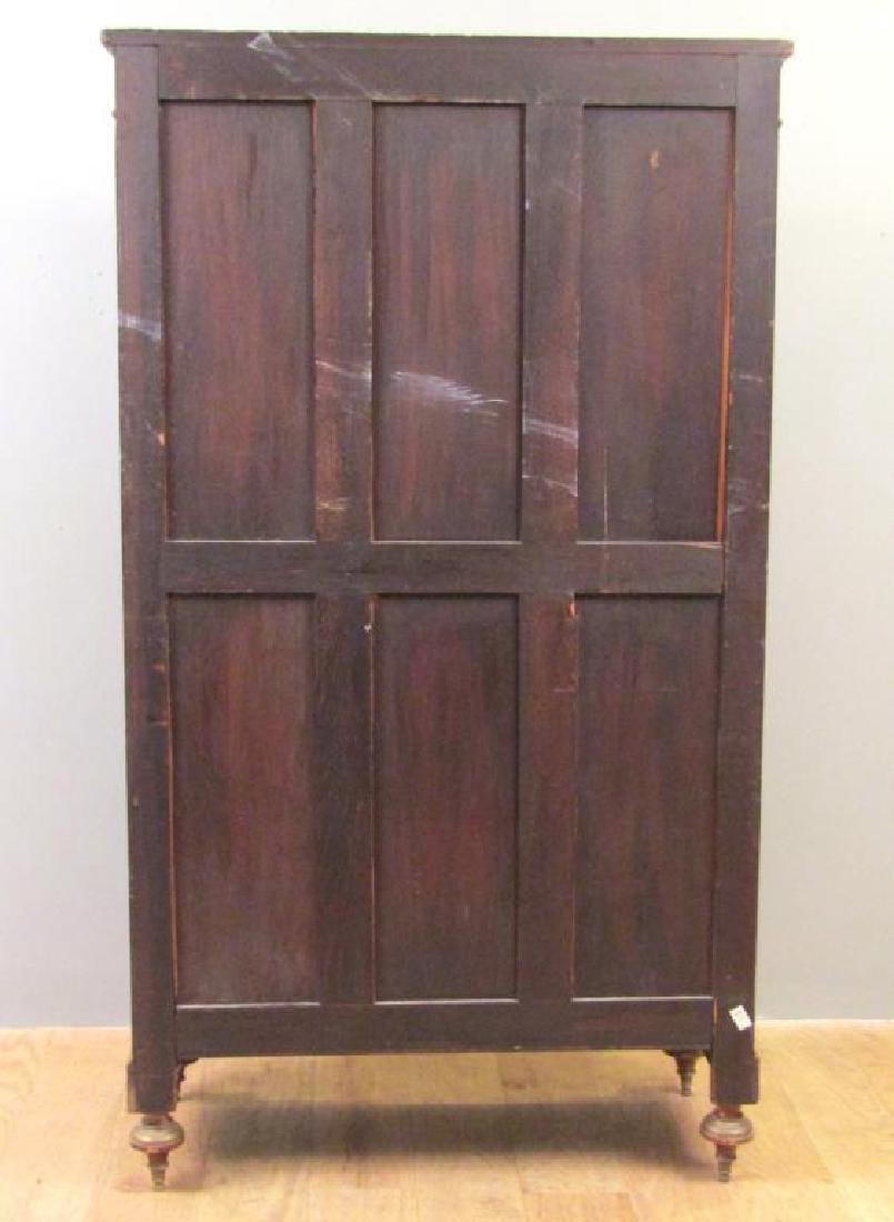 Antique French Vitrine Cabinet / Bibliotheque - 7