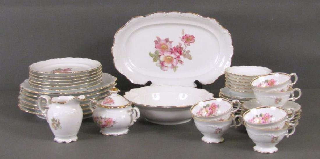 34 Piece Bavaria Porcelain Dessert Set