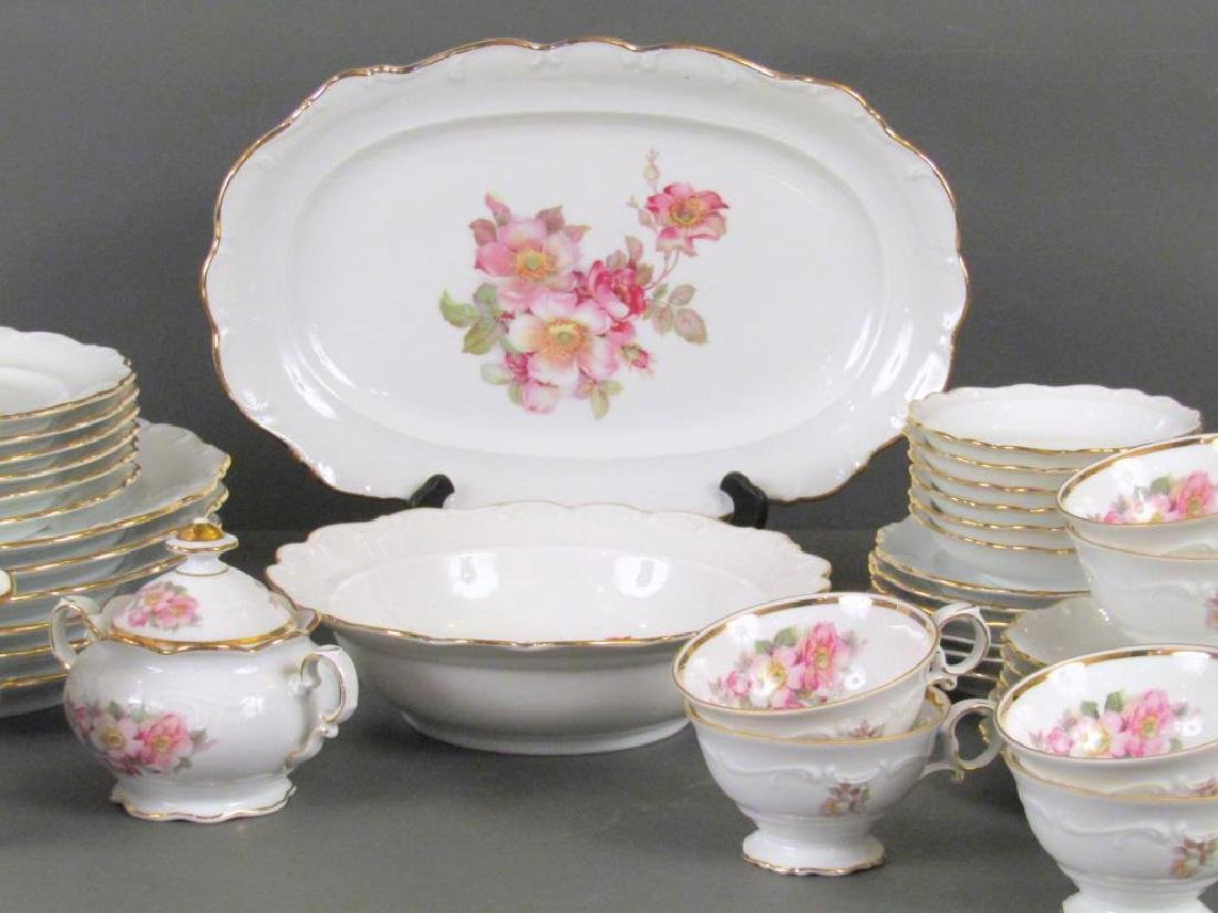 34 Piece Bavaria Porcelain Dessert Set - 4