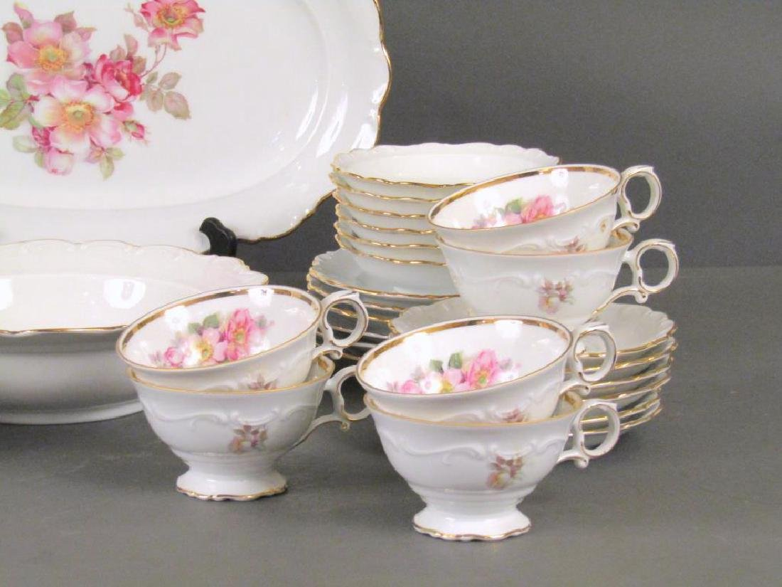 34 Piece Bavaria Porcelain Dessert Set - 5