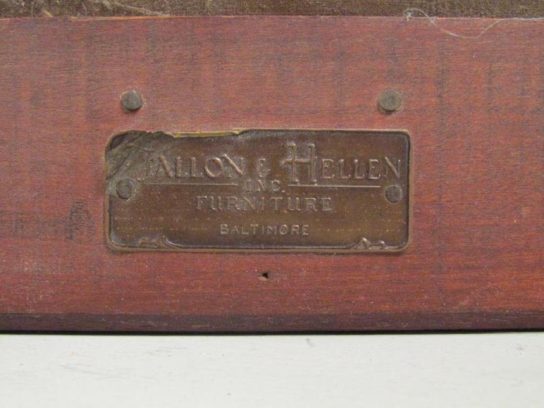 Fallon & Helen Mahogany Foot Stool - 6