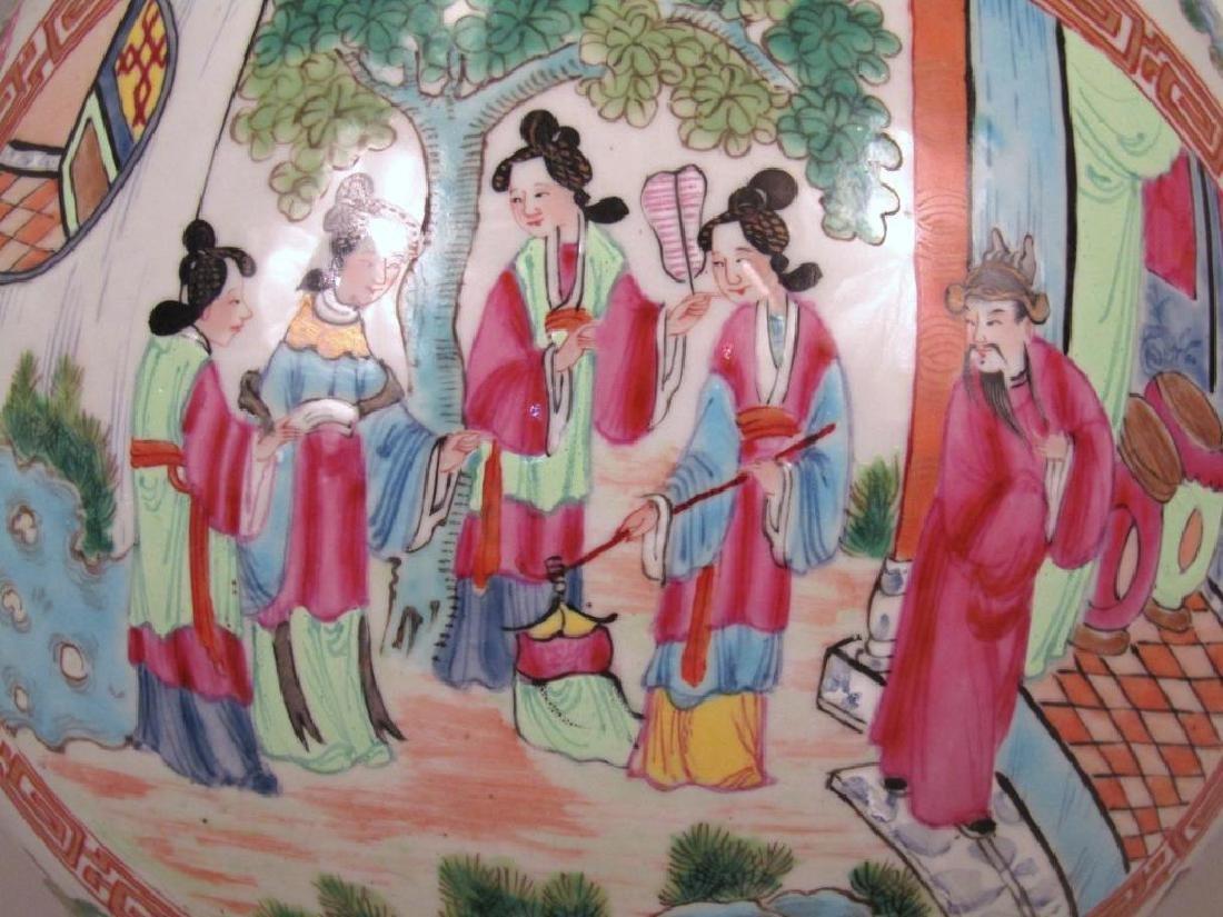 Chinese Rose Medallion Porcelain Serving Articles - 5