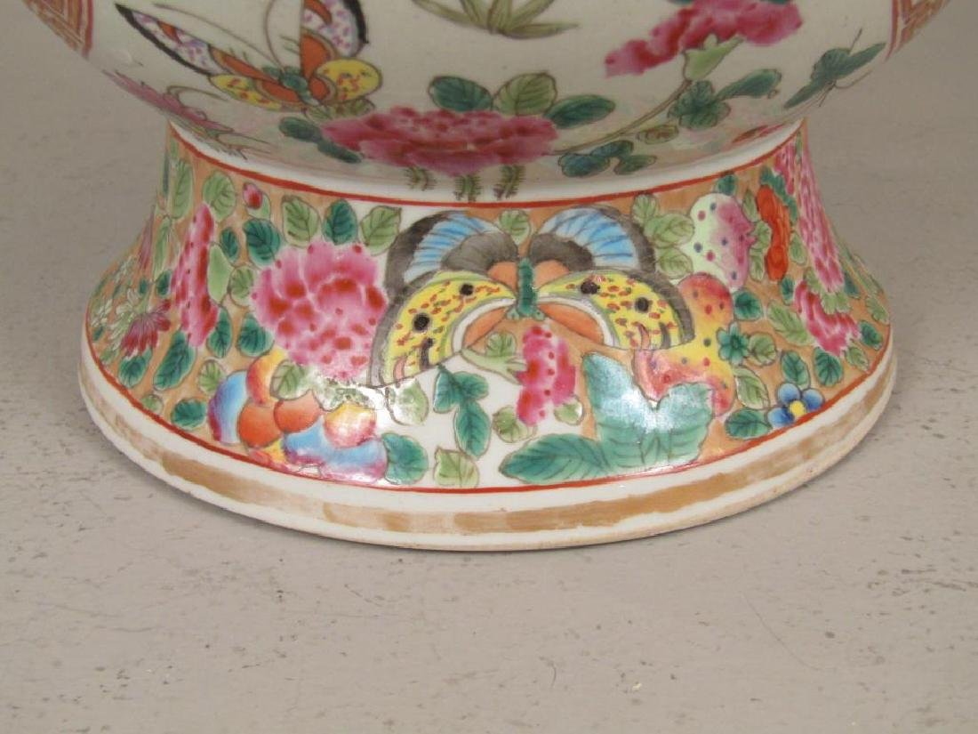 Chinese Rose Medallion Porcelain Serving Articles - 6