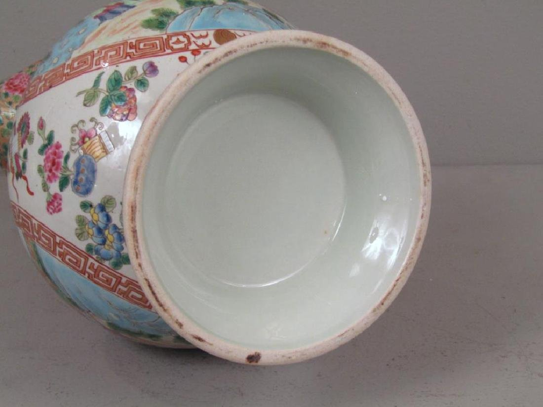 Chinese Rose Medallion Porcelain Serving Articles - 7