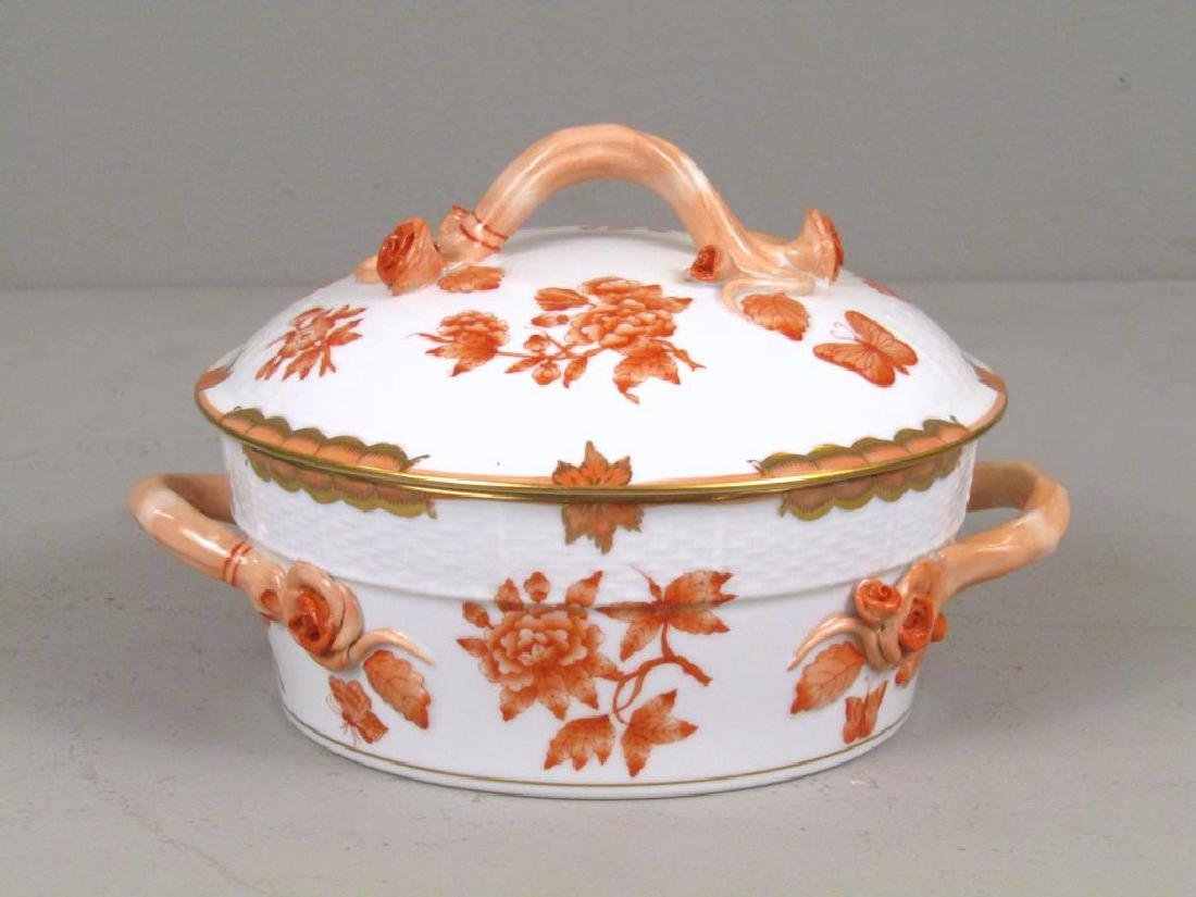Small Herend Porcelain Tureen