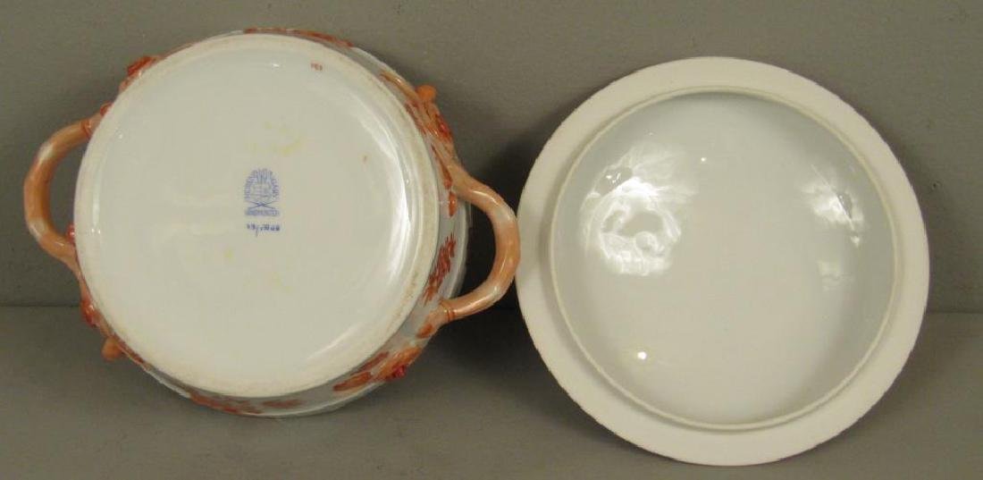 Small Herend Porcelain Tureen - 4