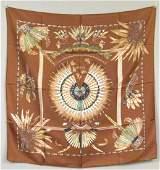 Hermes Silk Scarf  Brazil