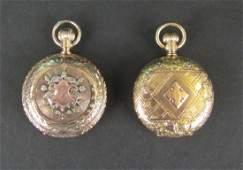 2 American Waltham 14K Gold Pocket Watches