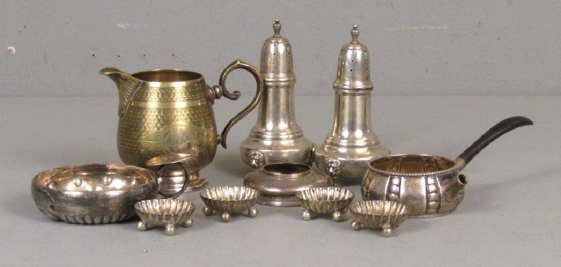 Assorted Sterling and Silver Plate Articles