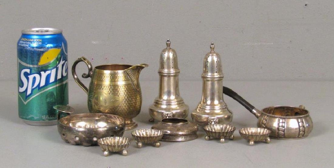 Assorted Sterling and Silver Plate Articles - 2