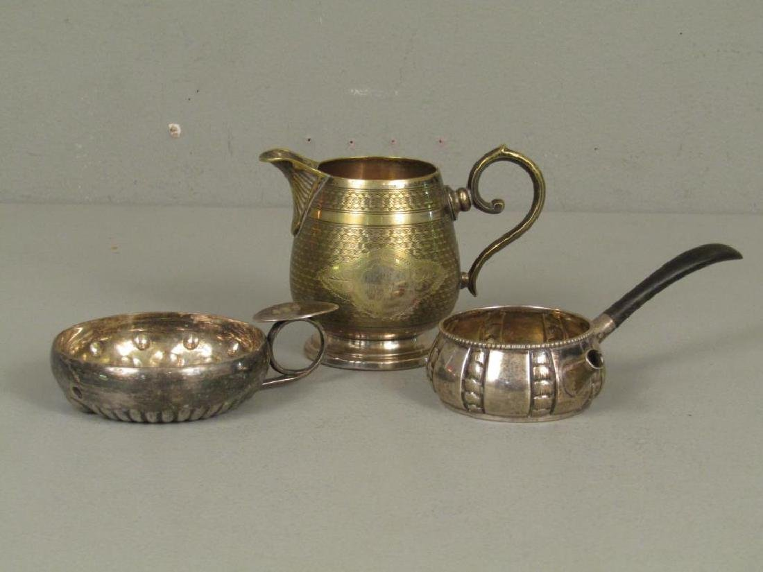 Assorted Sterling and Silver Plate Articles - 3