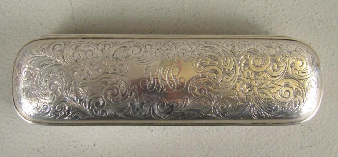 Gorham Sterling Silver Pen / Cigar Box - 3