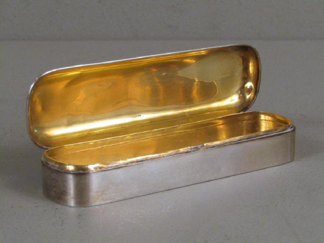 Gorham Sterling Silver Pen / Cigar Box - 4