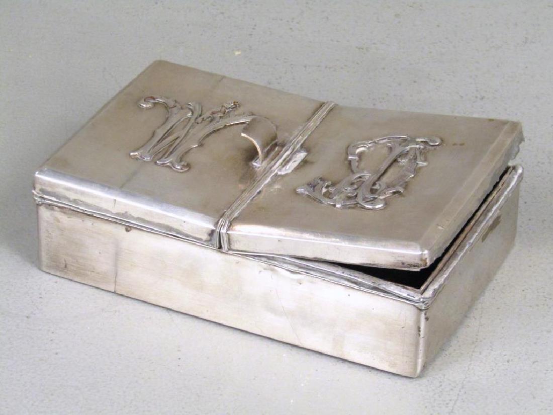 Antique Russian Silver Box - 2