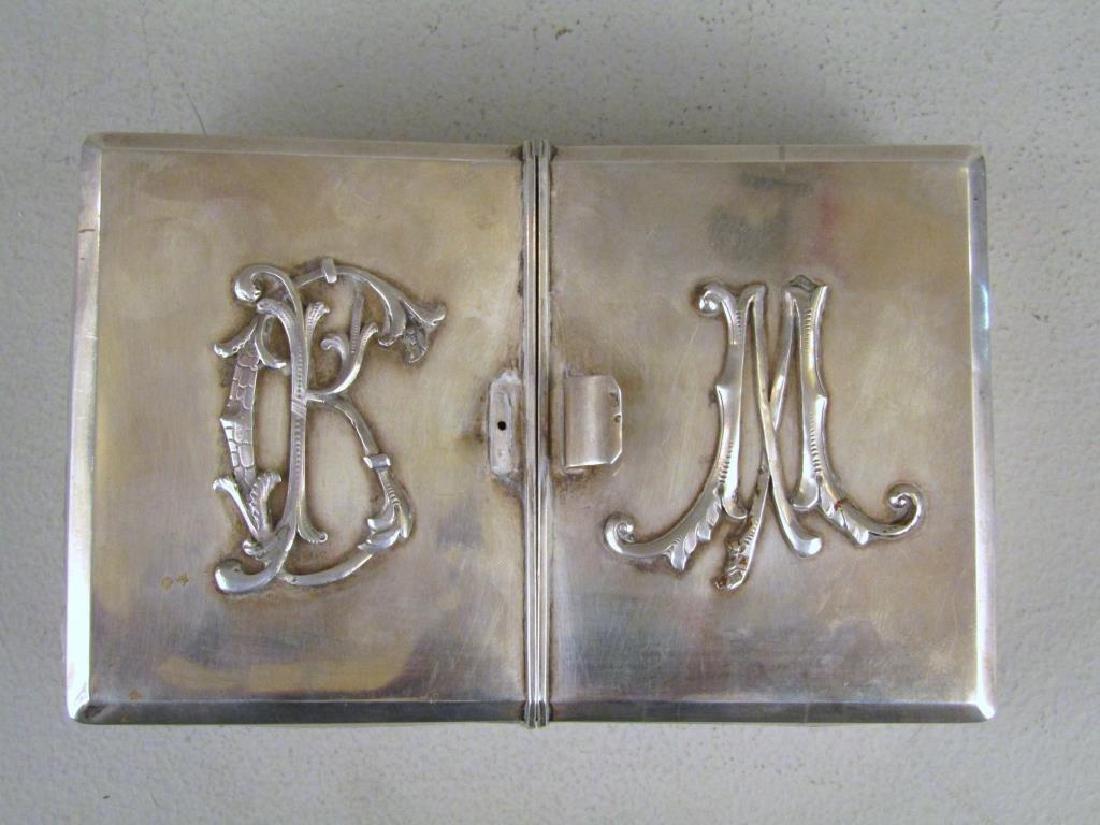 Antique Russian Silver Box - 3