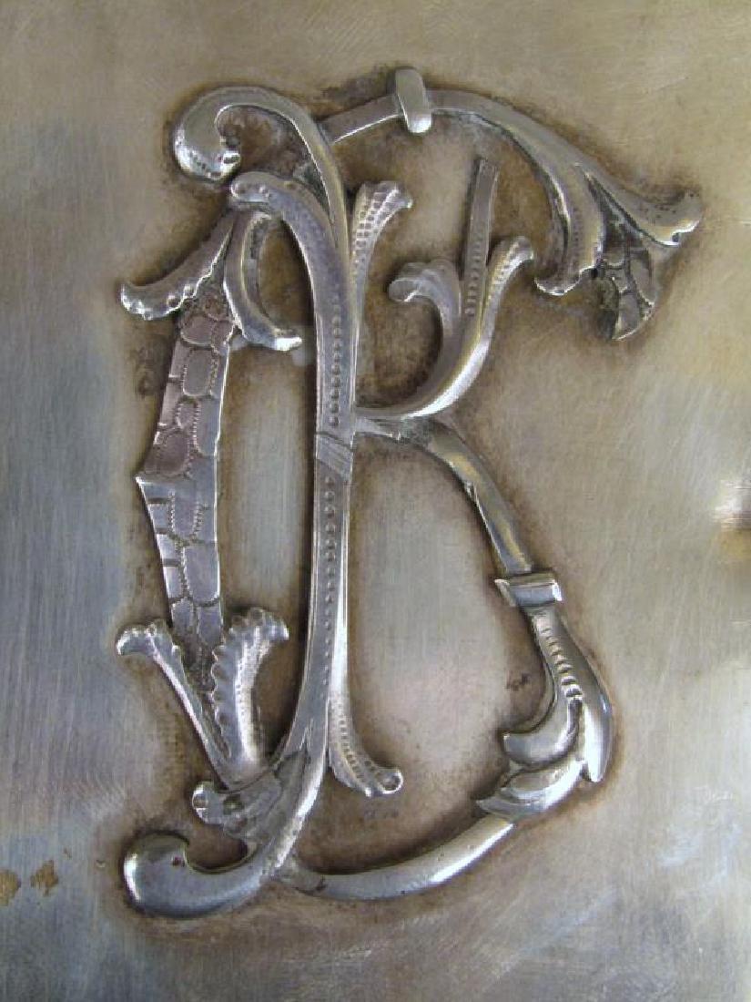 Antique Russian Silver Box - 4