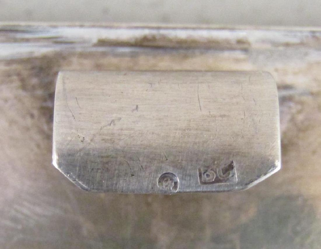 Antique Russian Silver Box - 6