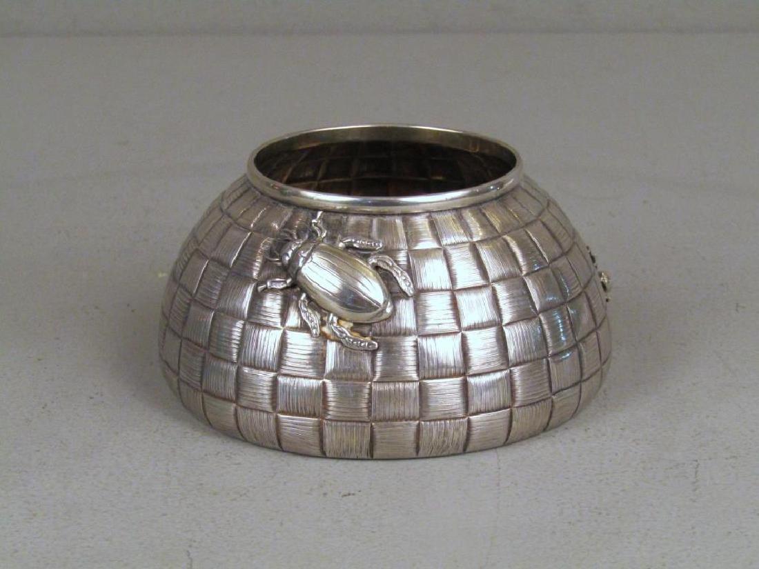 Ovchinnikov Russian Silver Honey Pot