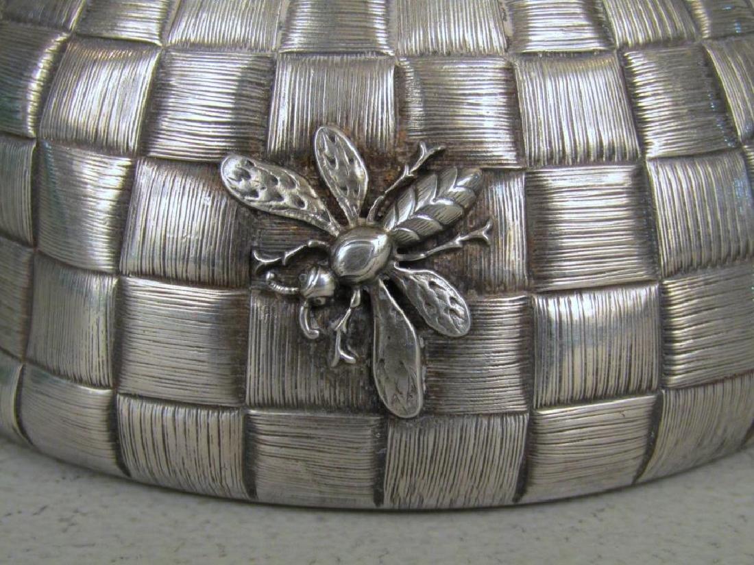 Ovchinnikov Russian Silver Honey Pot - 4