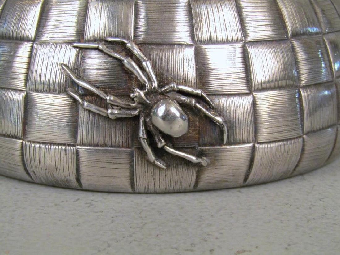 Ovchinnikov Russian Silver Honey Pot - 5