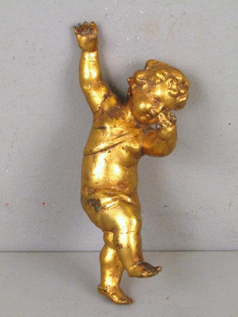 """Assorted Gilt Articles (** with Dabbing"""" Putto)"""" - 3"""