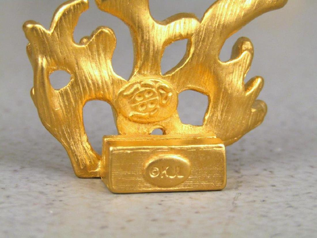"""Assorted Gilt Articles (** with Dabbing"""" Putto)"""" - 6"""