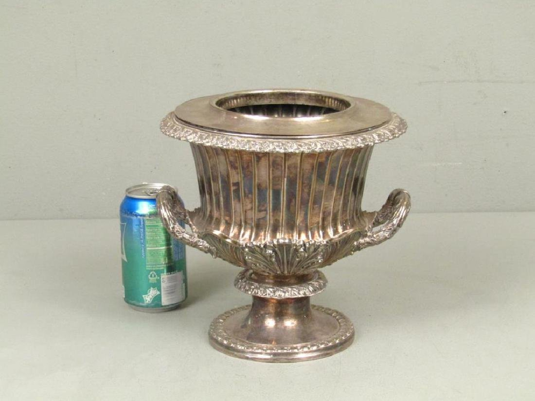 Silver Plated Wine Cooler - 2