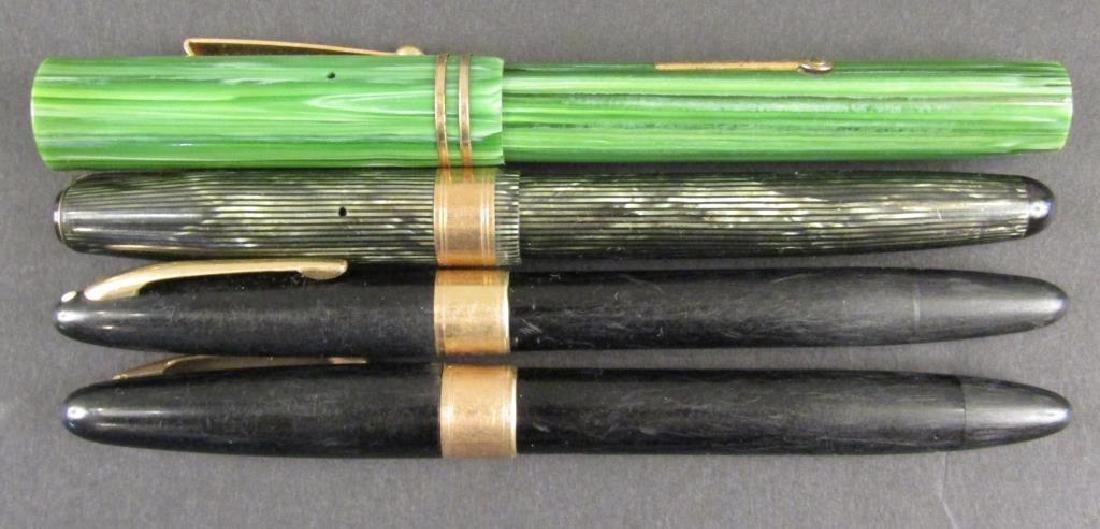 4 Fountain Pens