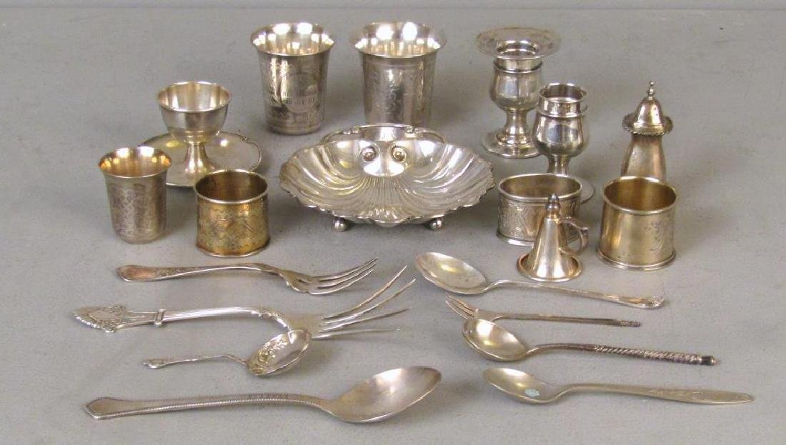 Assorted Silver and Plated Articles