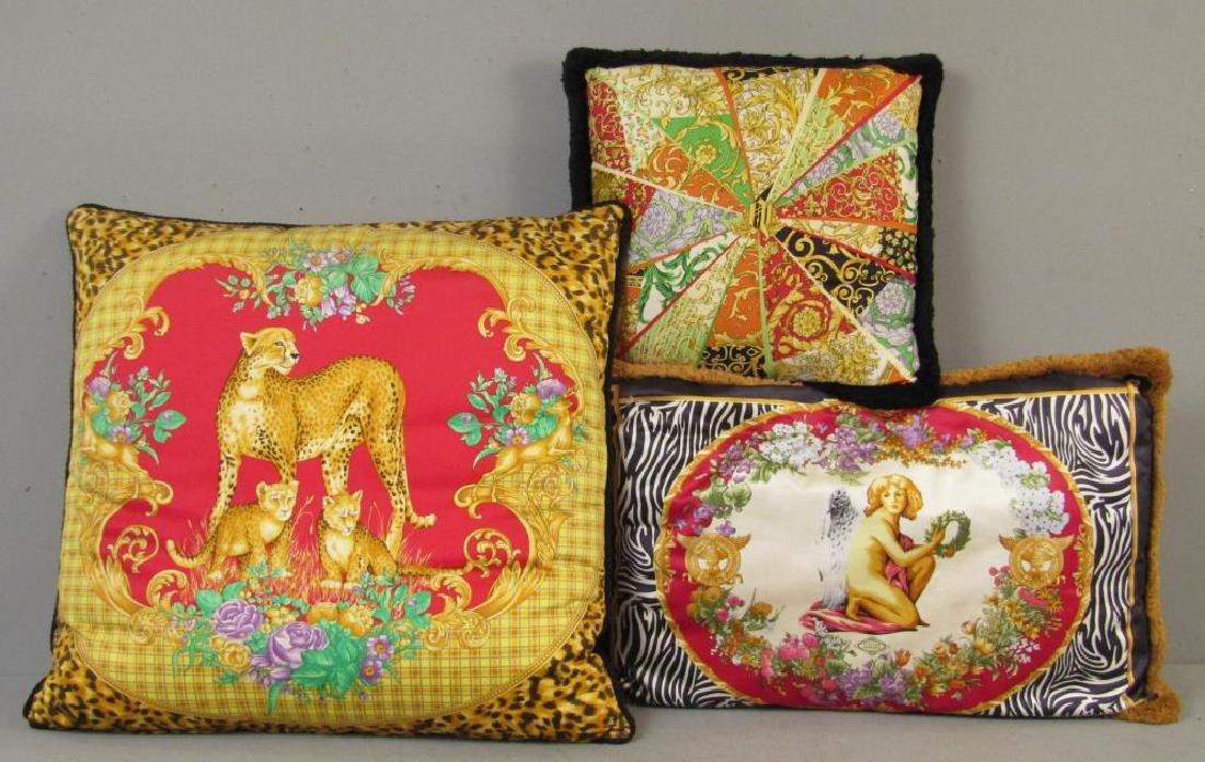 3 Versace Pillows