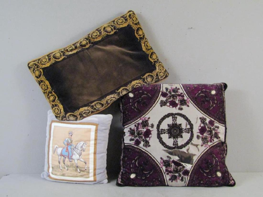 3 Designer Decorative Pillows