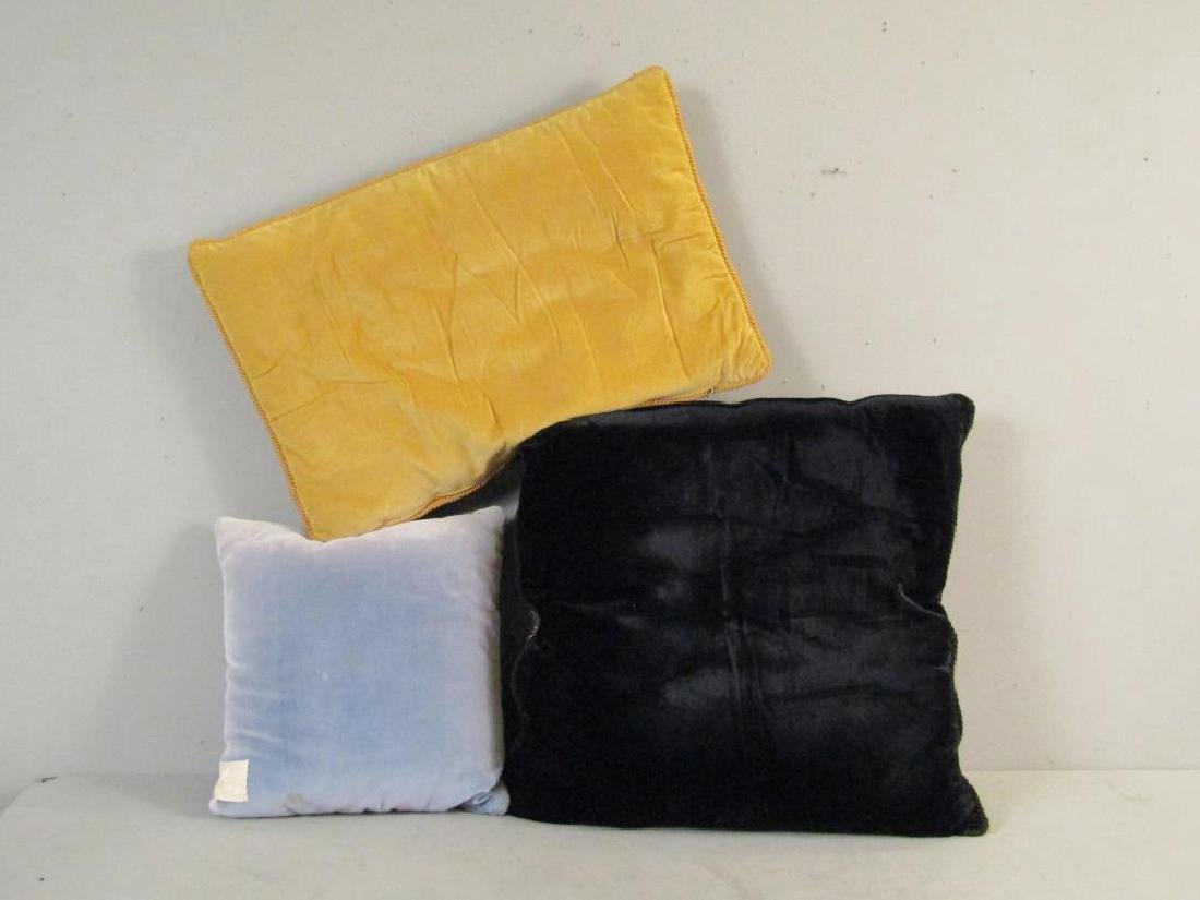 3 Designer Decorative Pillows - 2