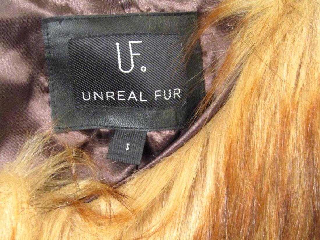 5 Faux Fur (?) Capes - 2