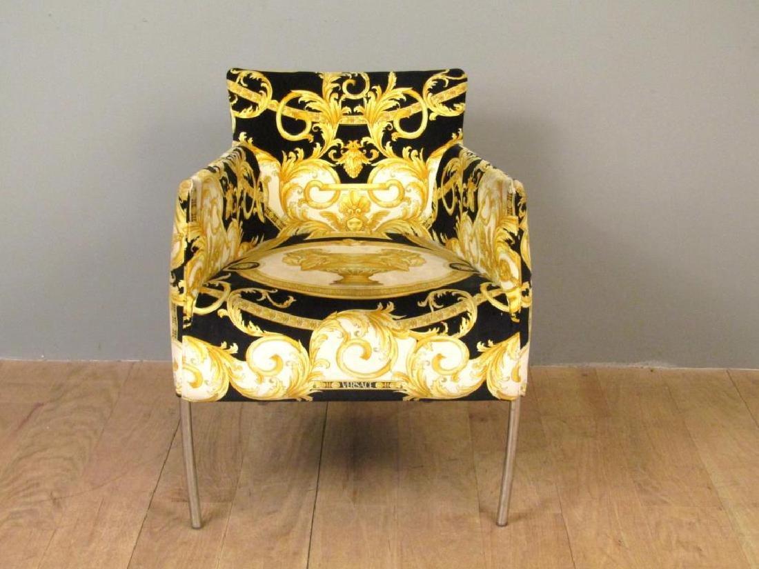 Versace Print Arm Chair - 2